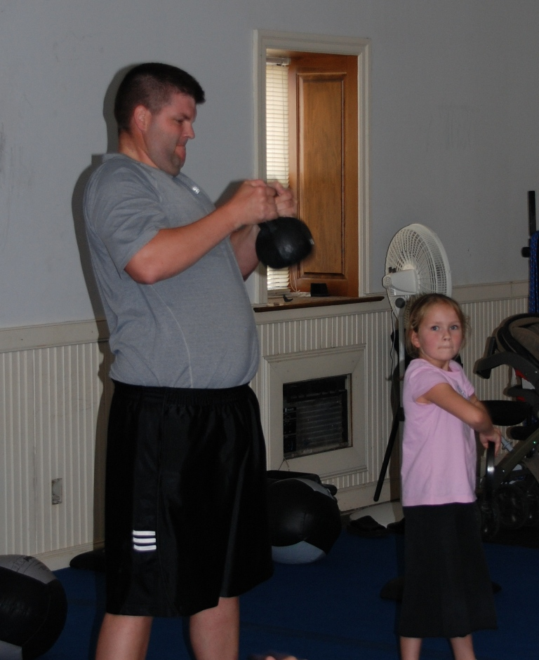 Jim and daughter