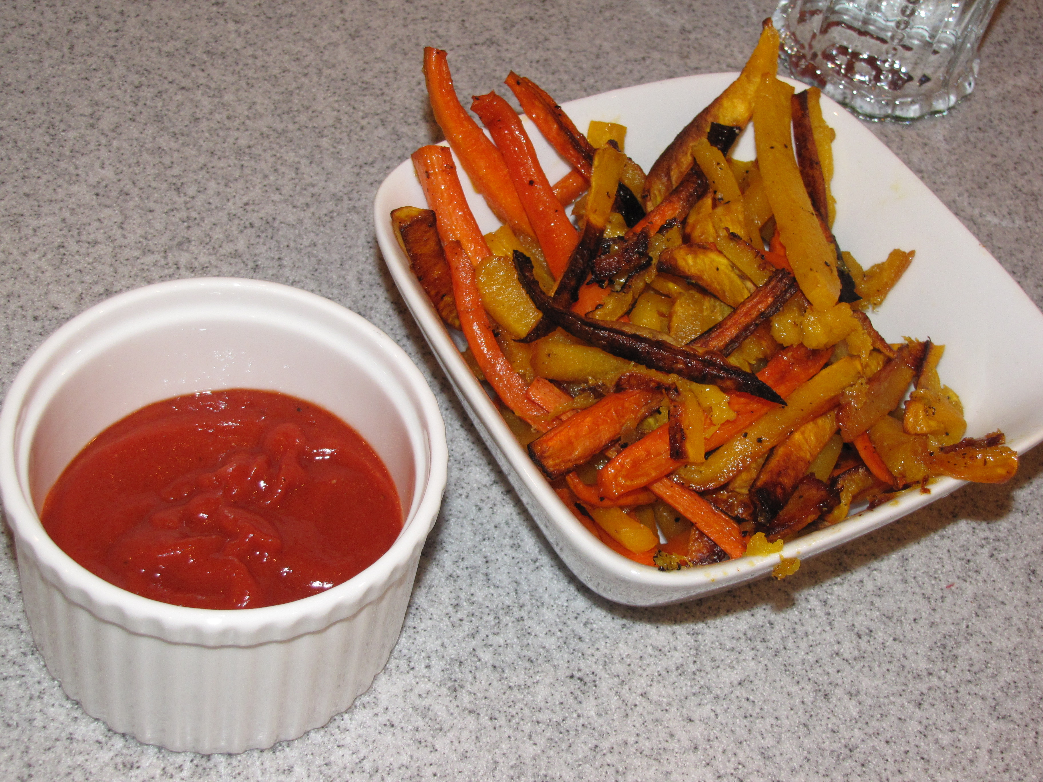 Eatpood vegetables primal ketchup from the primal blueprint cook book oven fries inspired by carrot fries from elanas pantry malvernweather Gallery
