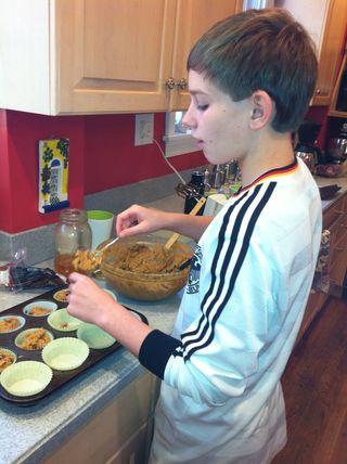Jack pumpkin muffins.2