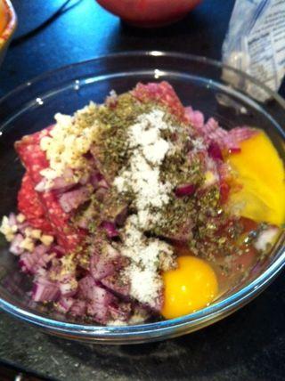 Meatloaf bowl