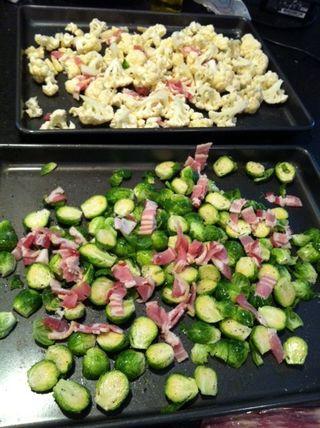 Cauli sprouts 1