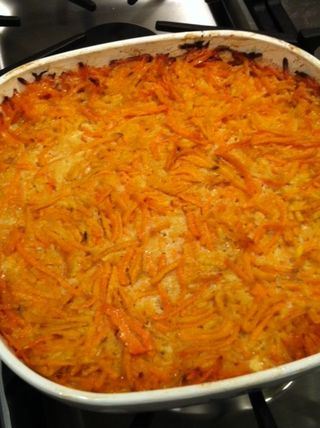 Sweet potato kugel 2
