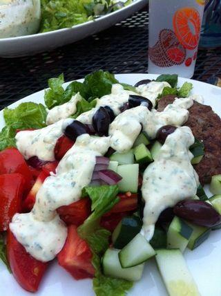 Gyro salad 1