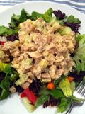 Chicken salad dinner
