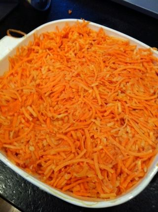 Sweet potato kugel 1